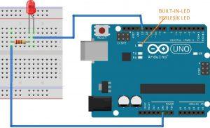 Arduino İle Led Yakıp Söndürme Blink Uygulaması